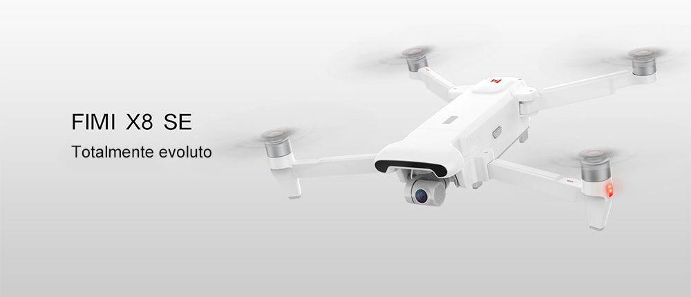 Tutti i DETTAGLI del drone Xiaomi FIMI X8 SE RC, Video in 4K con GPS