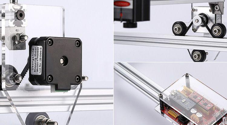 Incisore-Laser-economico-Alfawise-C30-2 Incisore Laser economico: Alfawise C30 per il fai da te Facile e Professionale