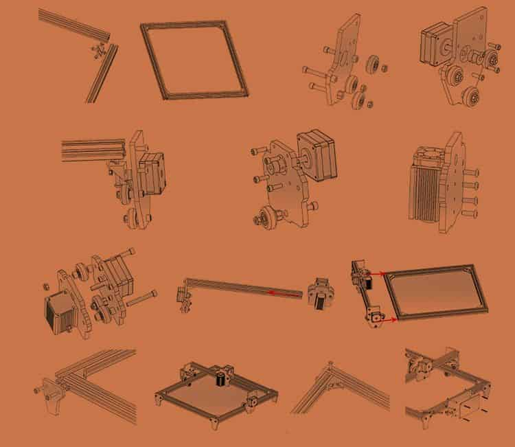 Incisore-Laser-economico-Alfawise-C30-5 Incisore Laser economico: Alfawise C30 per il fai da te Facile e Professionale