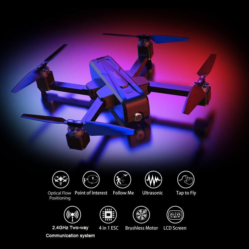 Offerta JJRC X11 a 190€, il drone con fotocamera 2K, incluso: 3 Batterie e Borsa