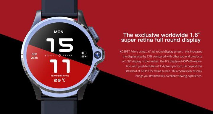 Offerta-KOSPET-Prime-4-720x387 Offerta KOSPET Prime a 137€, il Primo smartwatch con 2 fotocamere + 4G