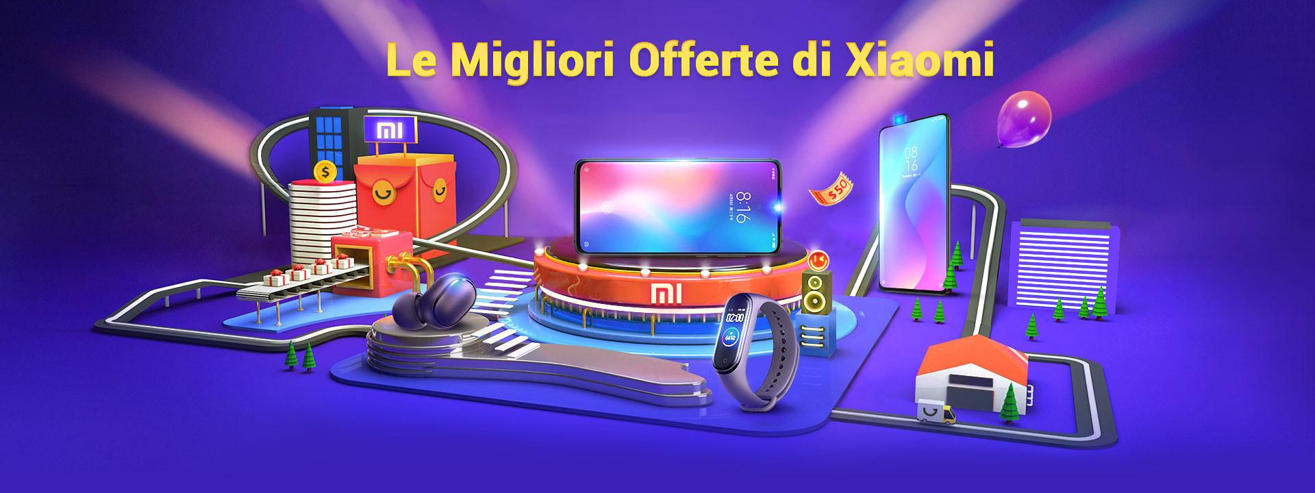 -50% Offerte e Codici Sconto dei migliori Xiaomi disponibili online