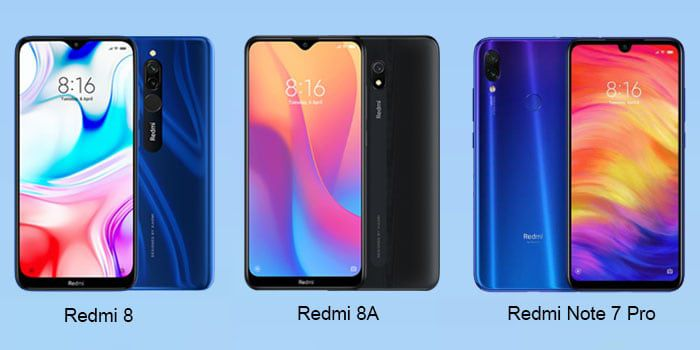 Redmi 8 vs Redmi 8A vs Redmi Note 7 Pro: quale Xiaomi scegliere, Dettagli e Offerte