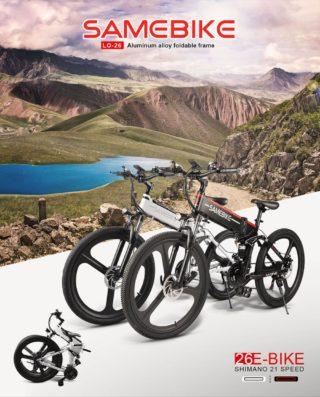 Samebike-LO26-2-320x397 La Ruota elettrica per Bici da 26 - Modifica in e-Bike Facile