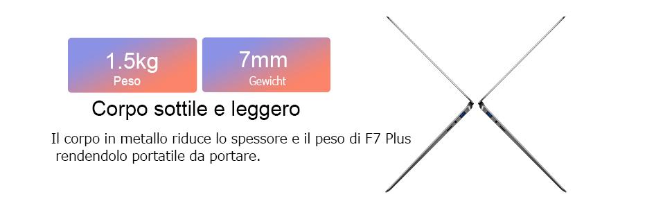 Teclast-F7-Plus-2 Teclast F7 Plus: tutti i dettagli del notebook cinese da 300€, Specifiche e Offerte