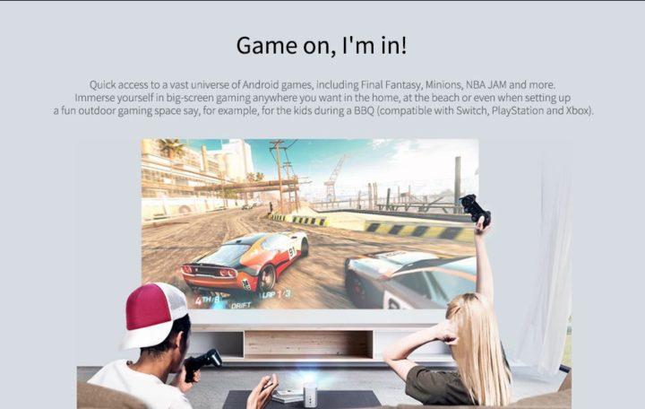 XGIMI-XJ03W-MOGO-3-720x456 Codice Sconto XGIMI XJ03W MOGO a 396€, il proiettore 4K portatile con Android 9.0
