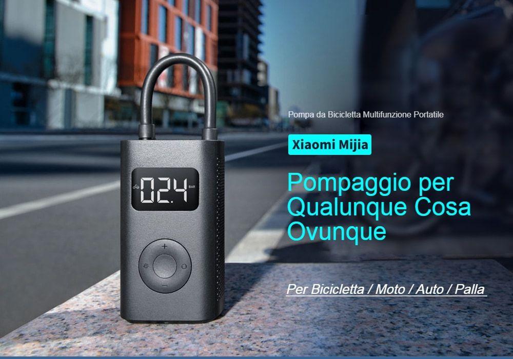 Xiaomi MIJIA Pompa aria Compressa Portatile, Dettagli completi e Offerte