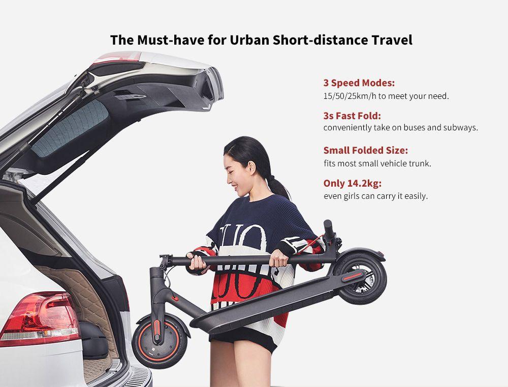 Codice Sconto Xiaomi Mi Electric Scooter Pro a 470€, il monopattino più veloce