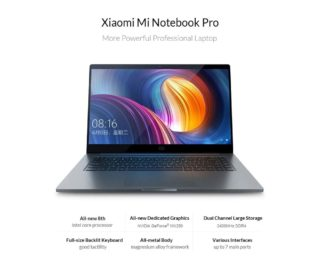 Xiaomi-Mi-Notebook-Pro-1-320x262 Codice Sconto Xiaomi Mi Notebook Pro a 841€, la miglior alternativa Apple