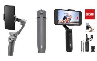 Zhiyun Smooth Q2 vs DJI Osmo Mobile 3, stabilizzatori smartphone a confronto
