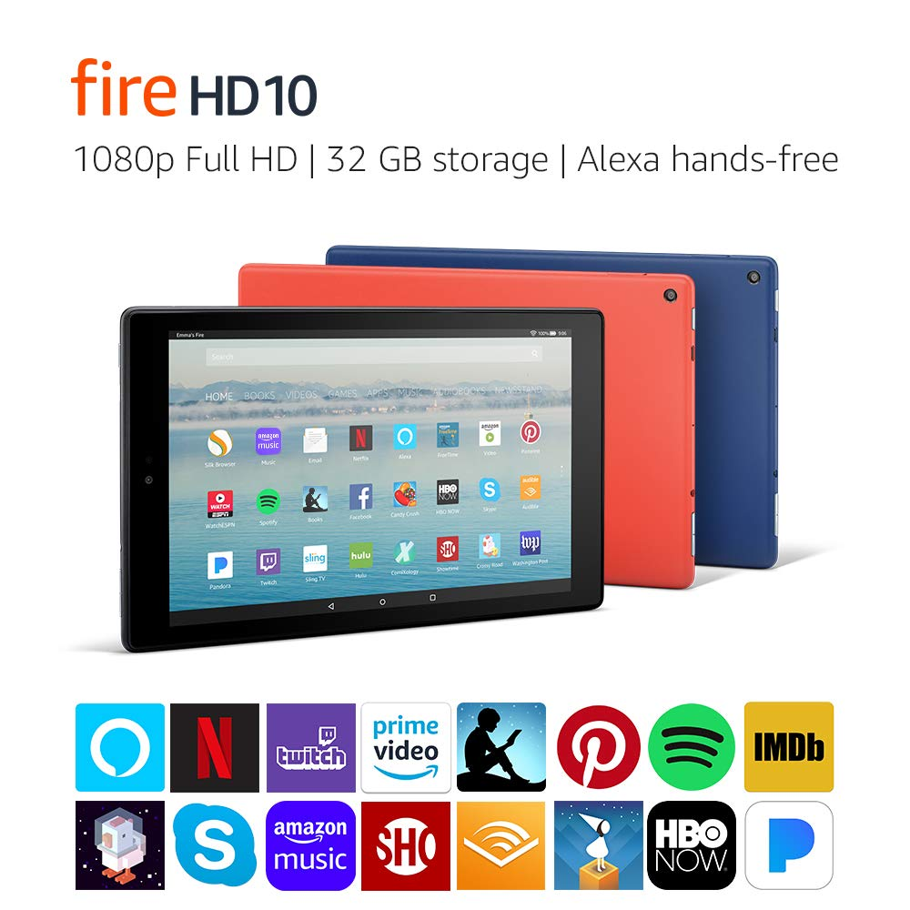 Amazon Fire HD 10, il nuovo dispositivo Amazon da 10 pollici con USB-C