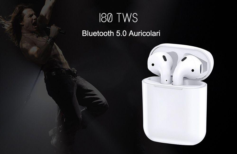 Codice Sconto i80 TW a 30€, i migliori auricolari low cost più venduti in Italia