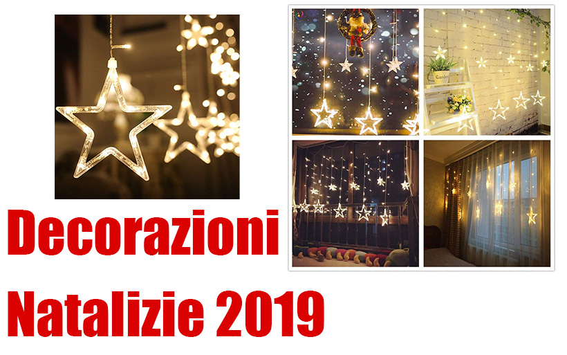 Idee per le decorazioni Natalizie 2019: le 7 migliori luci a LED di Natale per casa