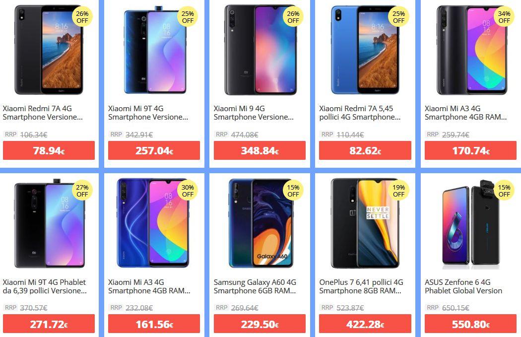 offerte-xiaomi-1 -50% Offerte e Codici Sconto dei migliori Xiaomi disponibili online