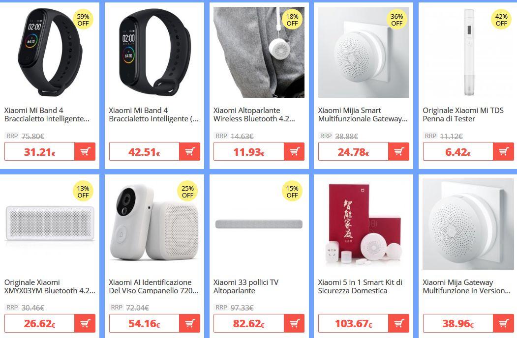 offerte-xiaomi-2 -50% Offerte e Codici Sconto dei migliori Xiaomi disponibili online