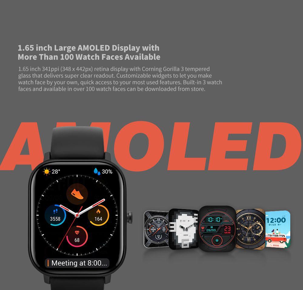 AMAZFIT-GTS-1 Offerta AMAZFIT GTS a 121€, il clone perfetto di Apple Watch 4