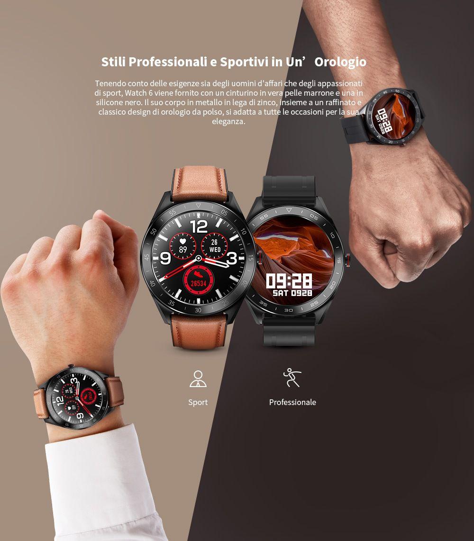 Alfawise-Watch-6-2 Offerta Alfawise Watch 6 a 36€, il clone di Amazfit GTR economico