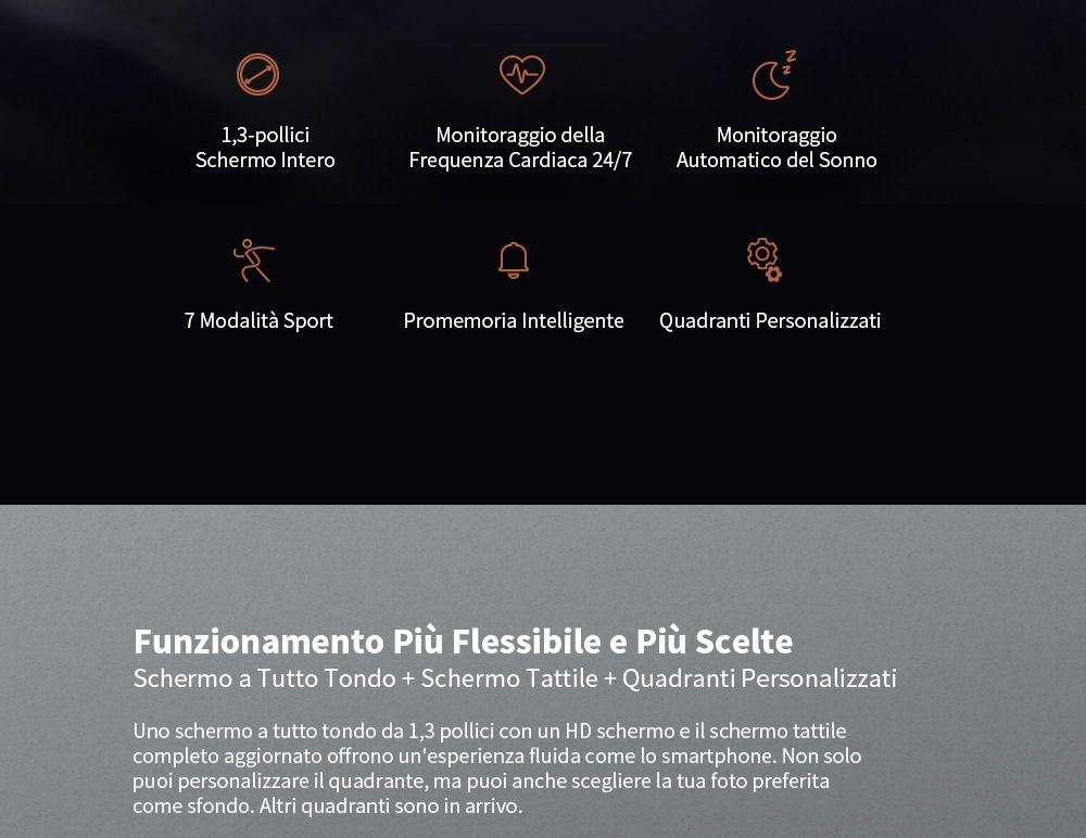 Alfawise-Watch-6-3 Offerta Alfawise Watch 6 a 36€, il clone di Amazfit GTR economico