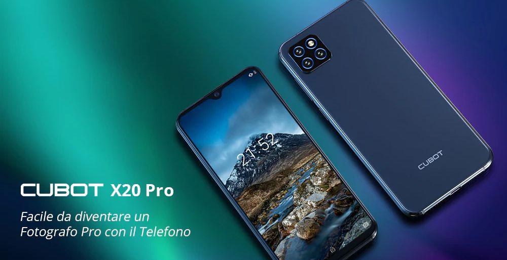 CUBOT-X20-Pro-3 Codice Sconto CUBOT X20 Pro a 134€, smartphone economico con 3 Fotocamere