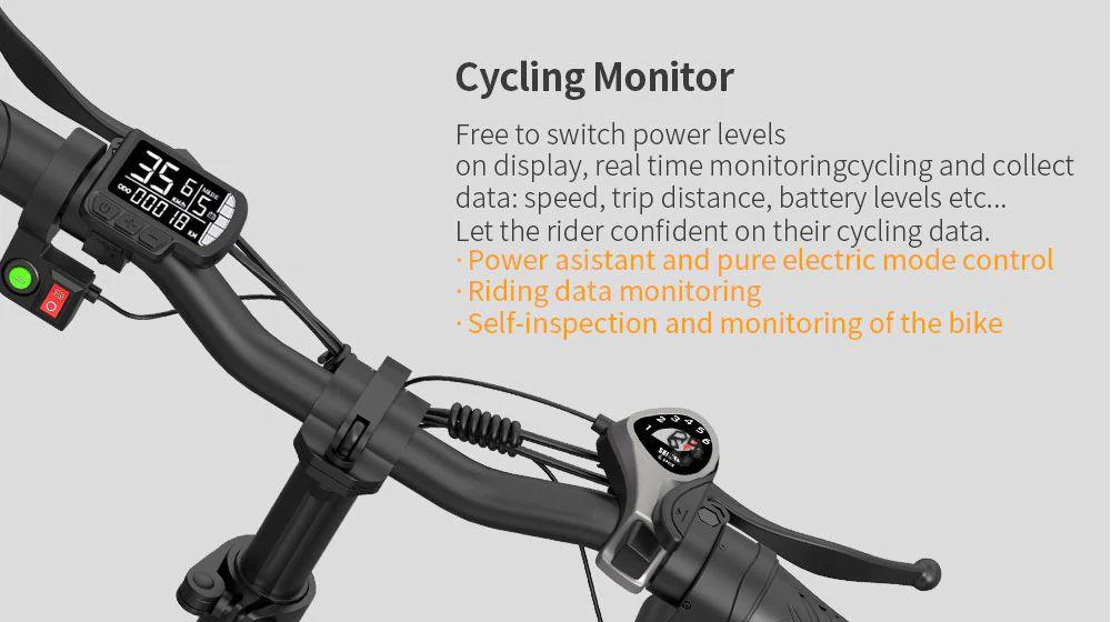 ENGWE-EP-2-3-1 Offerta ENGWE EP-2 a 641€, la migliore FAT Bike da 500W, bici elettrica Pieghevole