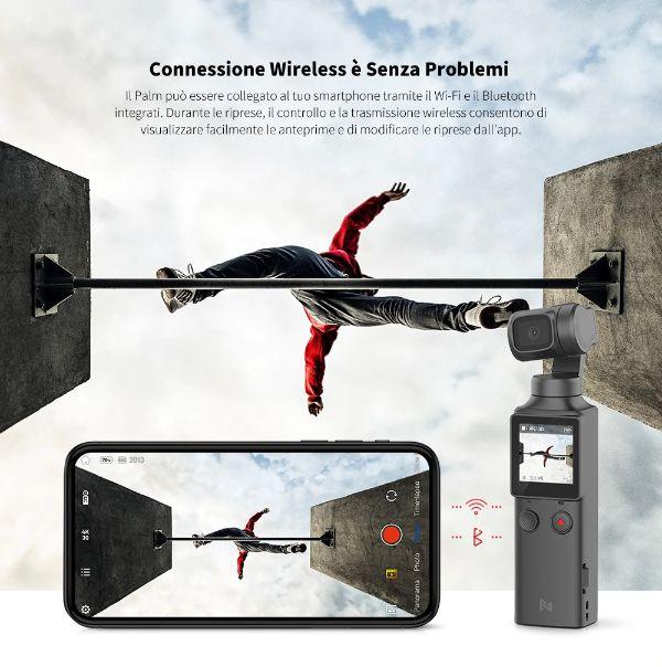 Offerta-FIMI-PALM-3 Offerta FIMI PALM a 132€, il nuovo Gimbal 4K sfida DJI Osmo Pocket