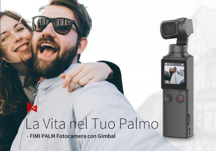 Offerta-FIMI-PALM-6-720x505 Offerta FIMI PALM a 132€, il nuovo Gimbal 4K sfida DJI Osmo Pocket