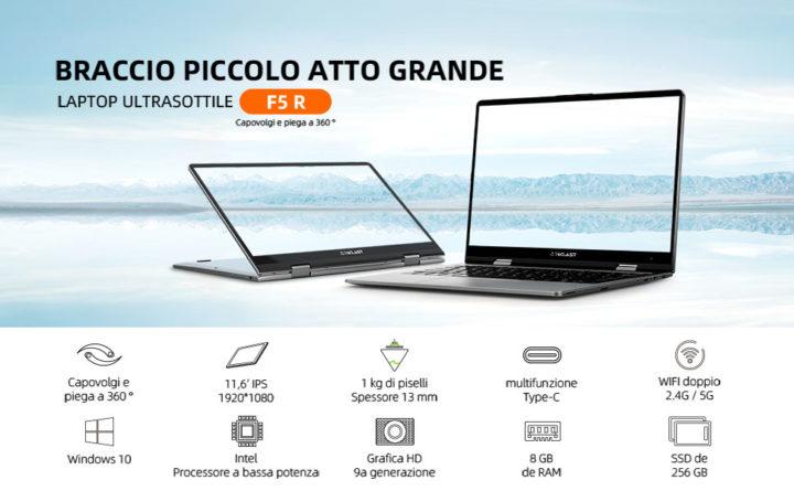 Teclast-F5R-1-720x445 Migliori Notebook Cinesi: Teclast F5R e Teclast F15, Dettagli e Offerte