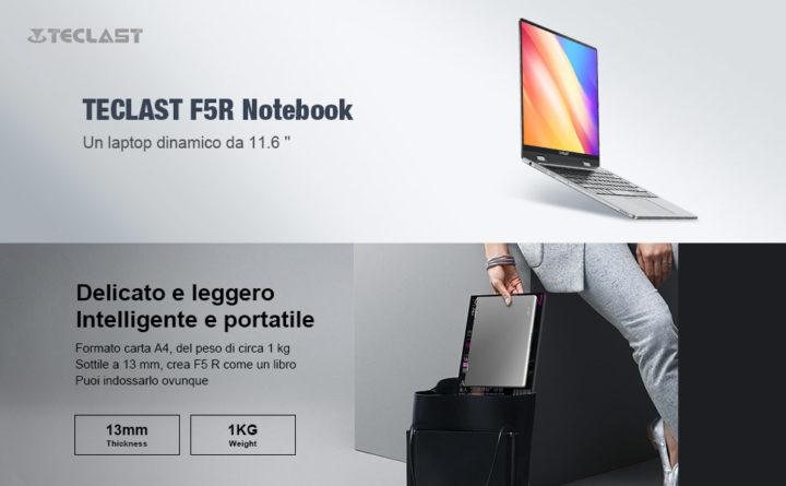 Teclast-F5R-2-720x445 Migliori Notebook Cinesi: Teclast F5R e Teclast F15, Dettagli e Offerte