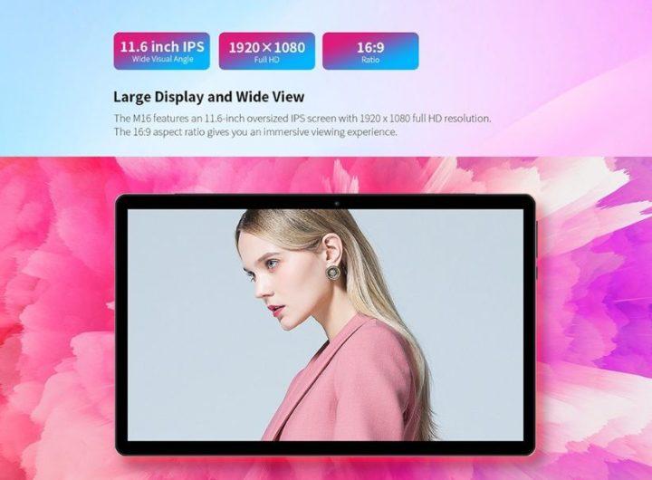 Teclast-M16-il-nuovo-Tablet-3-720x530 Codice Sconto Teclast M16 a 163€, il nuovo Tablet Android da 11 pollici