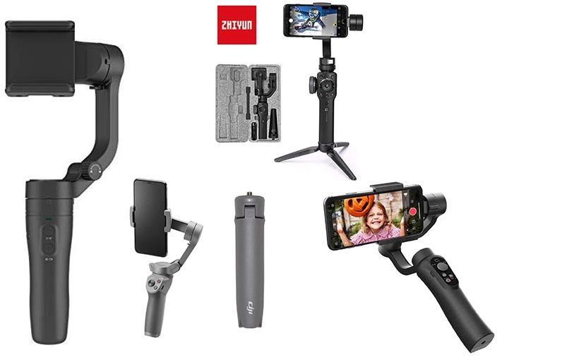 CINEPEER C11 VS ZHIYUN Smooth 4 VS DJI Osmo 3 VS FEIYU Vlog Pocket: un Rapido Confronto