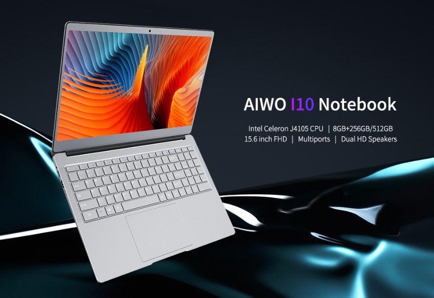 AIWO I10 è il nuovo notebook cinese: un clone di MacBook Air? Dettagli e Offerte