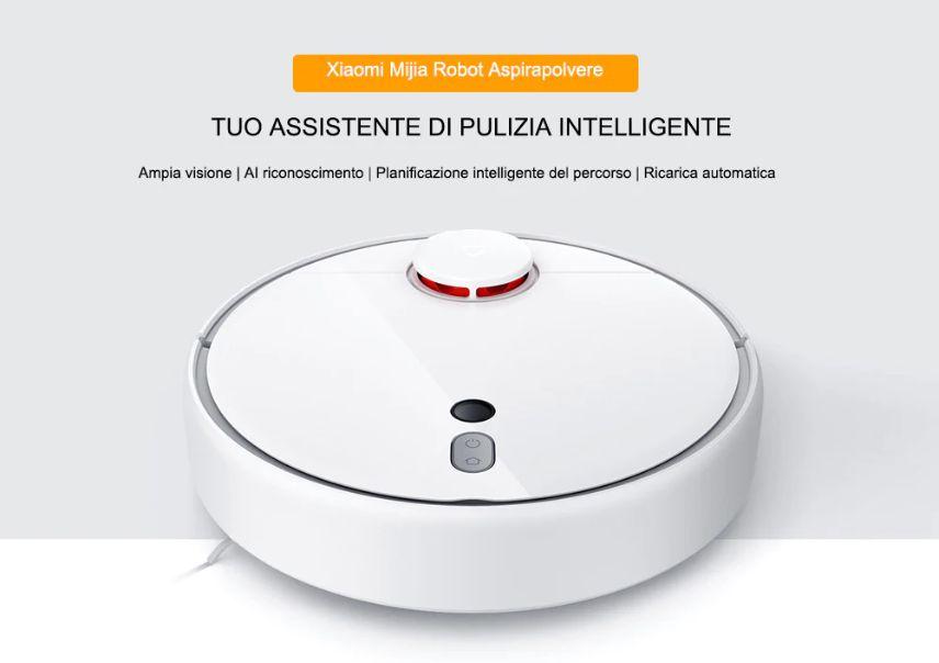 Codice Sconto Xiaomi Mijia 1S a 255€, il Robot Aspirapolvere di Qualità
