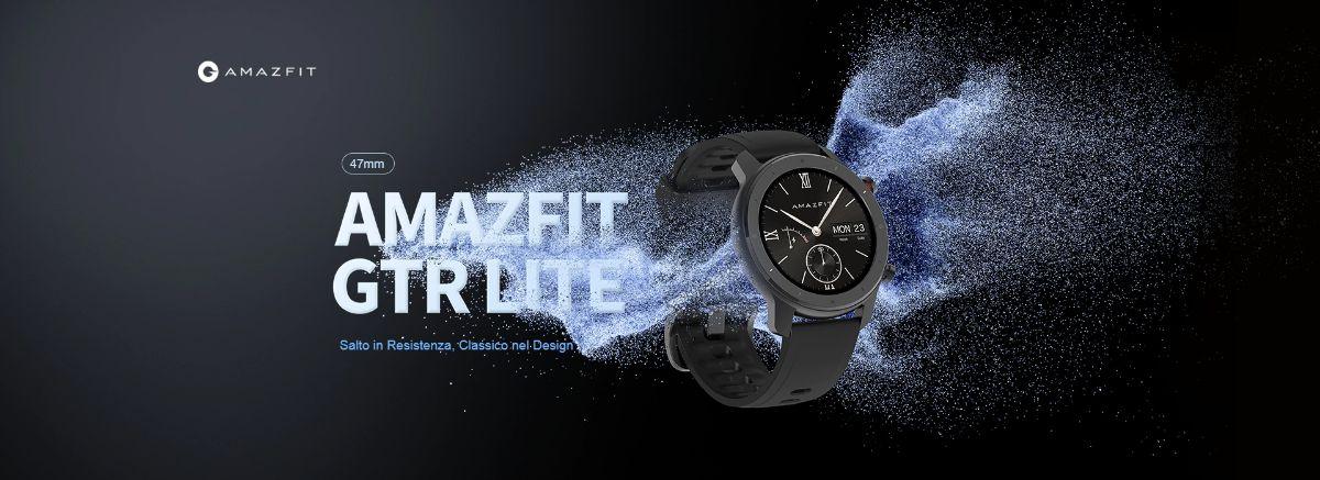 Offerta-Amazfit-GTR-Lite-3 Offerta Amazfit GTR Lite a 99€ + Regalo, il nuovo Smartwatch alla Moda