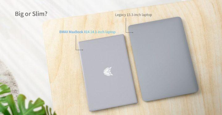 Offerta-BMAX-MaxBook-X14-3-720x375 Offerta BMAX MaxBook X14 a 269€, notebook cinese Ultra SLIM