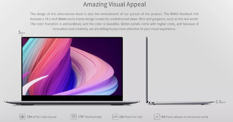 Offerta-BMAX-MaxBook-X14-4 Offerta BMAX MaxBook X14 a 269€, notebook cinese Ultra SLIM