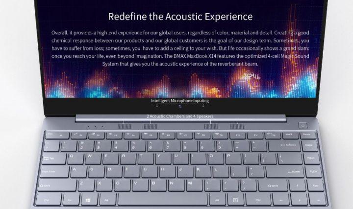 Offerta-BMAX-MaxBook-X14-6-720x427 Offerta BMAX MaxBook X14 a 269€, notebook cinese Ultra SLIM