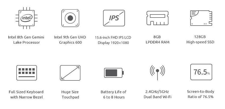 Offerta-BMAX-S15-1-e1576767665127 Offerta BMAX S15 a 269€, il vero Clone del MacBook, anche ruotabile a 178°