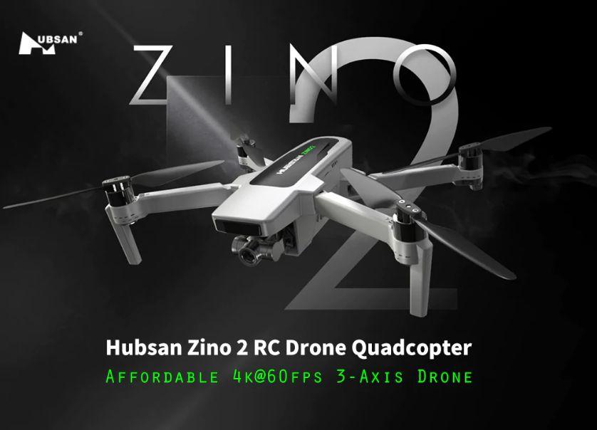 Offerta Hubsan Zino 2 a 364€, il nuovo Drone 4K conveniente