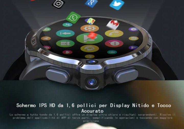 Offerta-KOSPET-Prime-SE-1-720x505 Offerta KOSPET Prime SE a 90€, il primo Smartwatch con Fotocamera e 4G