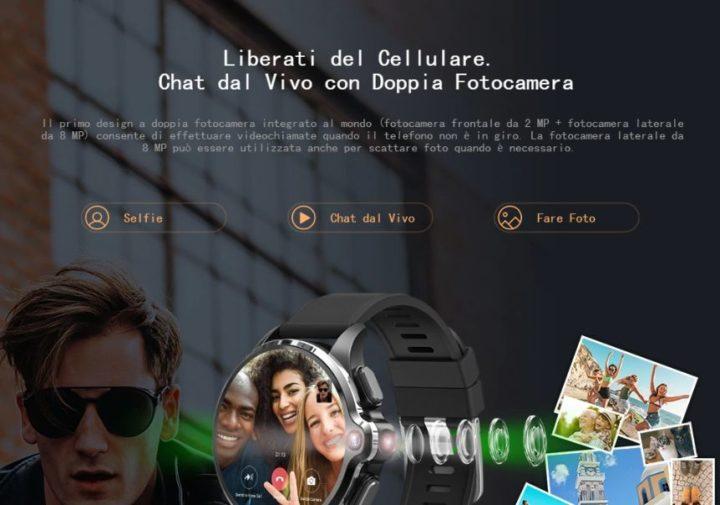Offerta-KOSPET-Prime-SE-3-720x505 Offerta KOSPET Prime SE a 90€, il primo Smartwatch con Fotocamera e 4G