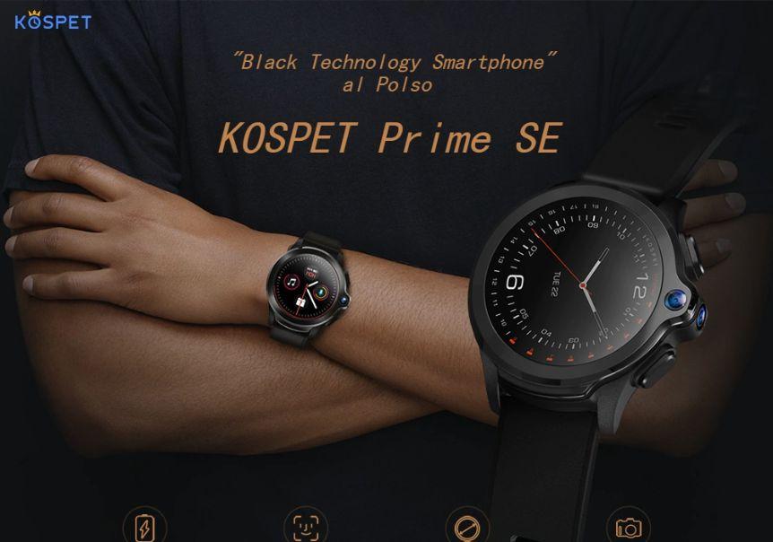Offerta KOSPET Prime SE a 90€, il primo Smartwatch con Fotocamera e 4G