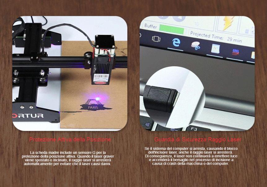 Ortur-Laser-Master-15W-2 Offerta Ortur Laser Master a 158€, il nuovo incisore portatile per legno