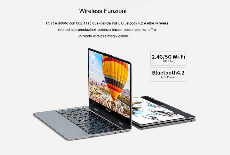 Teclast-F5R-3 Codice Sconto Teclast F5R a 282€, notebook Economico in stile YOGA a 360°