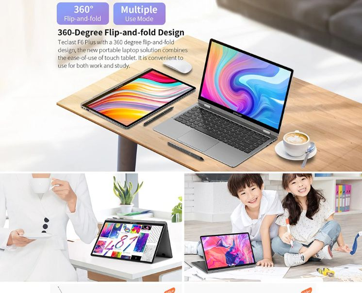 Teclast-F6-Plus-%C3%A8-il-notebook-Cinese-2 Teclast F6 Plus è il notebook Cinese più conveniente del 2019, Dettagli e Offerte