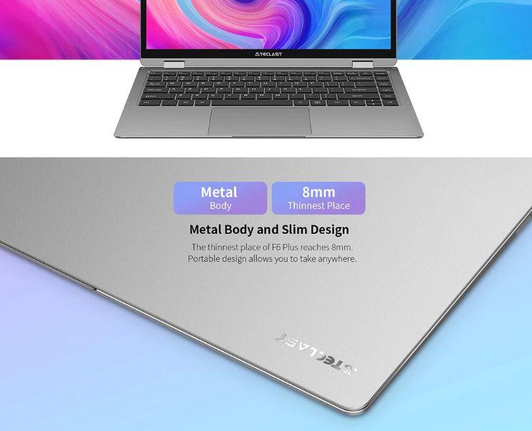 Teclast-F6-Plus-%C3%A8-il-notebook-Cinese-6 Teclast F6 Plus è il notebook Cinese più conveniente del 2019, Dettagli e Offerte