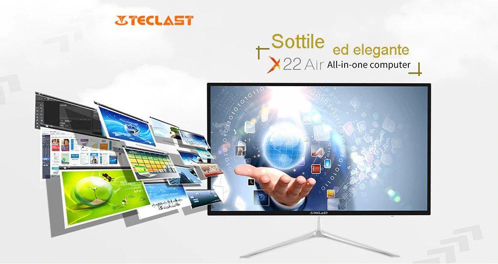 Teclast-X22-Air-a-288%E2%82%AC-1-1 Offerta Teclast X22 Air a 288€, il PC All-in-One da 21.5 pollici