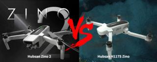 Hubsan Zino 2 vs Hubsan H117S Zino, Droni 4K a confronto: Dettagli e Offerte