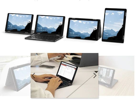 CHUWI-MiniBook-360-il-nuovo-Notebook-2-in-1-1 CHUWI MiniBook 360, il nuovo Notebook 2 in 1 da 8 pollici: Dettagli e Offerte