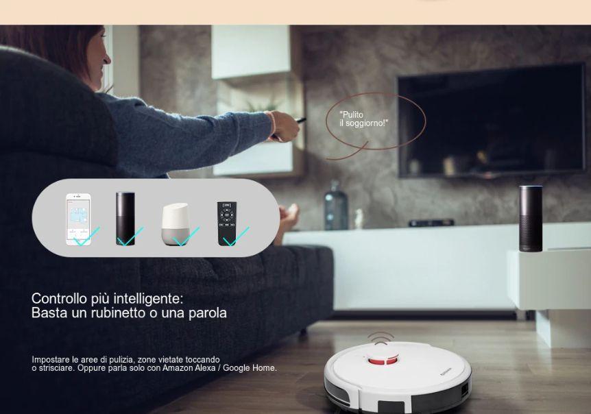 Codice-Sconto-Alfawise-V9S-BL517-3 Codice Sconto Alfawise V9S BL517 a 232€, Robot Aspirapolvere Economico