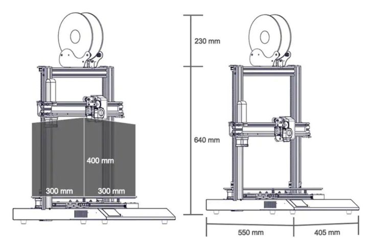 Codice-Sconto-Artillery-Sidewinder-X1-3-720x466 Codice Sconto Artillery Sidewinder-X1 344€, Stampante 3D professionale